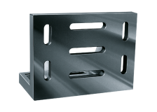 Angle plate with clamping slots